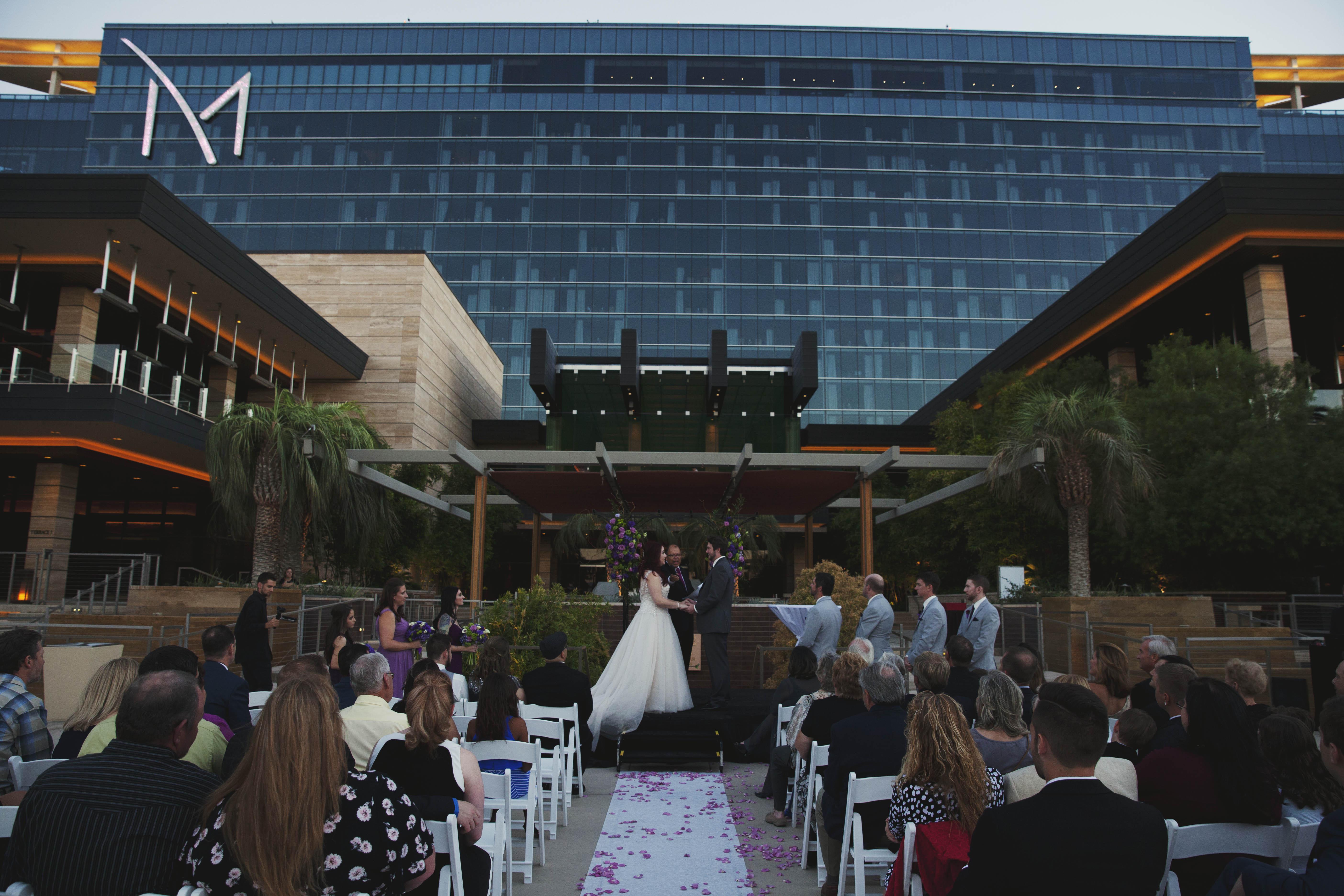romantic dreamy las vegas destination wedding at m resort