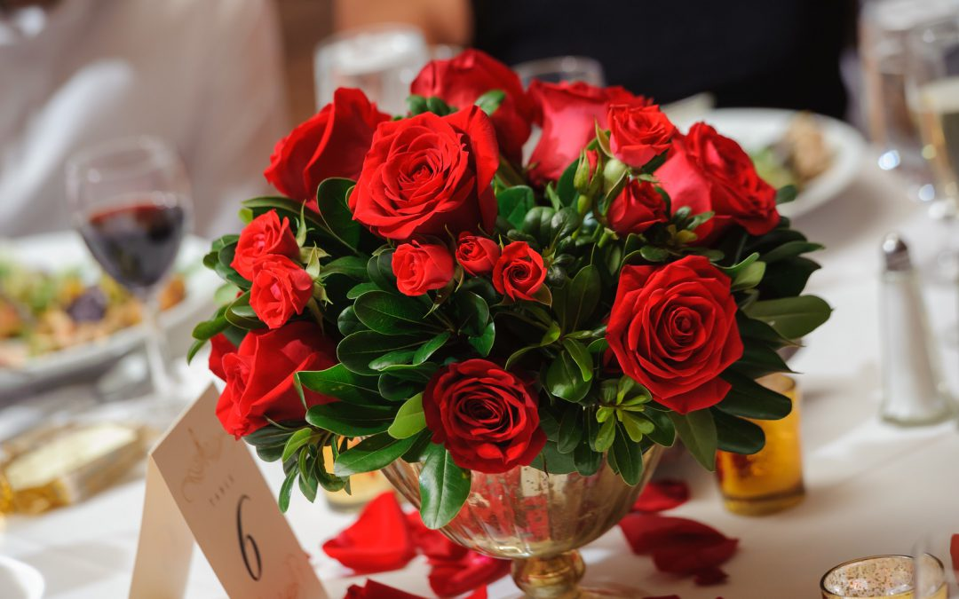 Classic Red Rose Wedding at Caesar's Palace