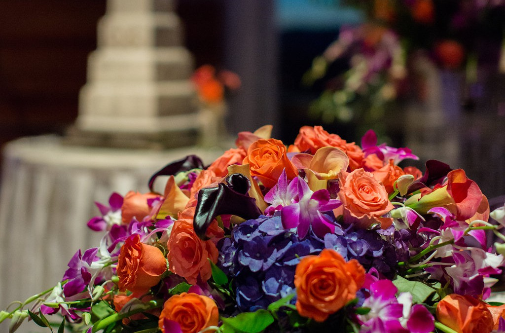 A Fall Affair: Las Vegas Wedding Design at the M Resort