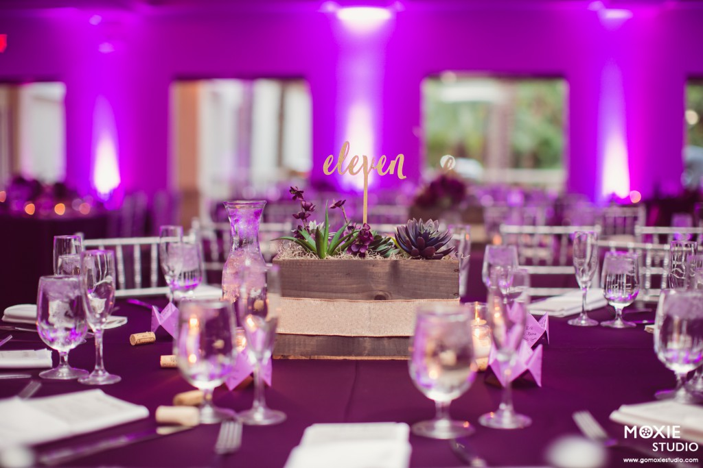 Purple Wedding Las Vegas By Dzign