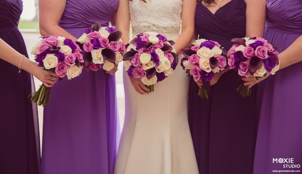 Purple Wedding By Dzign Las Vegas