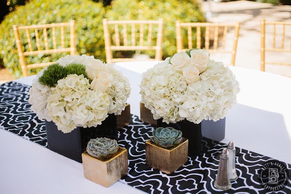 Black and White Wedding Design Las Vegas By Dzign 25