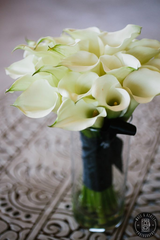 Black and White Wedding Design Las Vegas By Dzign 2
