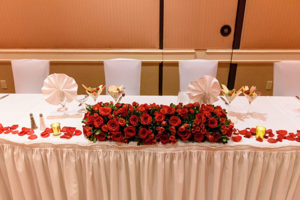 red rose wedding by dzign las vegas wedding 9