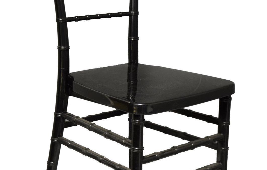 Black Acrylic Chiavari Chair