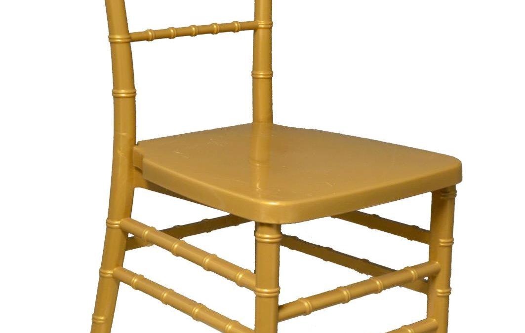 Gold Acrylic Chiavari Chair
