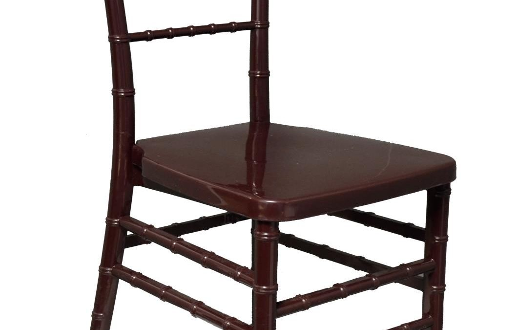 Mahogany Acrylic Chiavari Chair