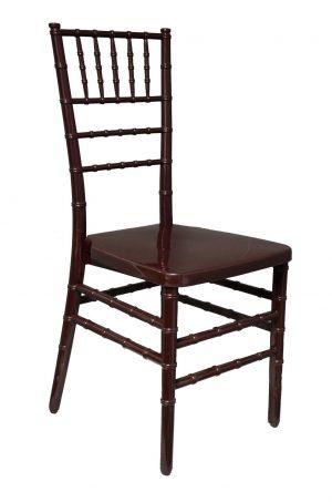 Mahogany Chiavari Chair Rental Las Vegas