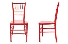 Red Chiavari Chair Rental Las Vegas