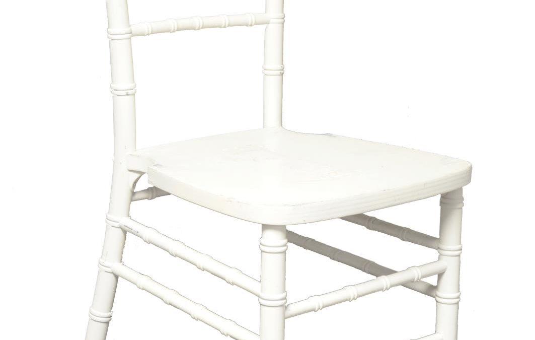 White Acrylic Chiavari Chair
