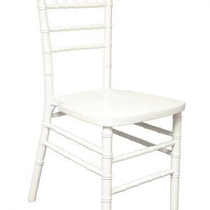 white chiavari chair rental Las Vegas