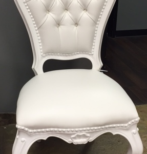 White Polart Chair Rental Vegas