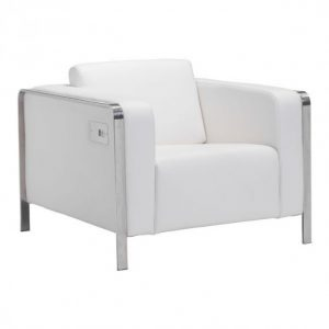 White charging chair rental