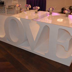 Love Table Rental