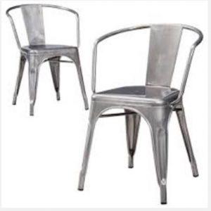 Metal Industrial Chair Rental Vegas