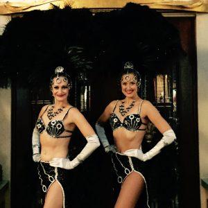 Black Showgirl Costume
