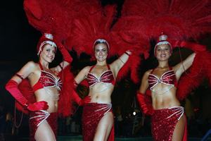 Red Showgirl Costume