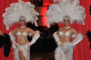 White Showgirl Costume