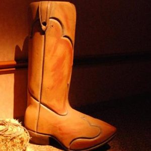 Giant Cowboy Boot Rental