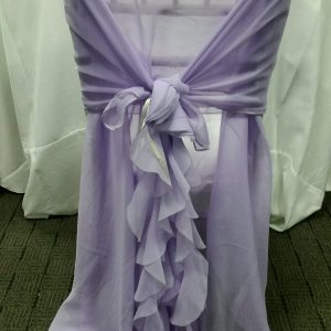 Lilac Curly Willow Chair Wrap