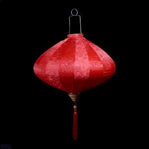 """16"""" Red Silk Chinese Lantern"""
