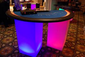 Gaming Blackjack Table Rental Vegas