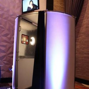 Modern Enclosed Photo Booth