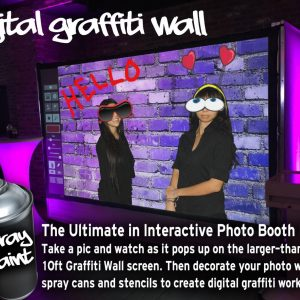 Graffiti Wall Photo Booth