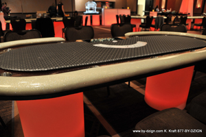 GAMING POKER TABLE