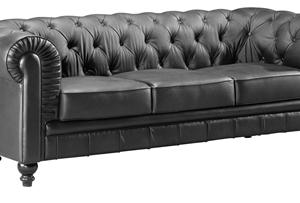 Black Aristocrat Sofa Rental Vegas