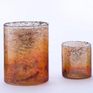 Copper Luster Votive Large