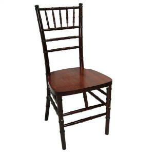 Fruitwood Wood Chiavari Chair Rental