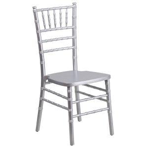 Silver Wood Chiavari Chair Renal Vegas