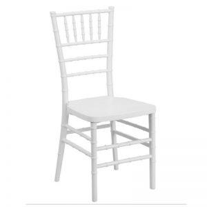 White Wood Chiavari Chair Rental Vegas