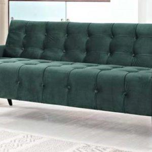 Emerald Green Velvet Sofa Rental Vegas