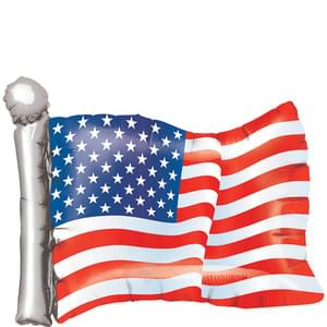 "24"" American Flag Balloon"