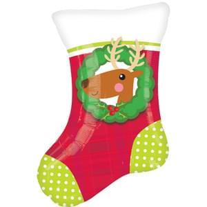 "18"" Christmas Stocking Junior Shape"