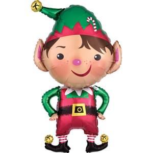"""22"""" x 35"""" Jolly Christmas Elf"""