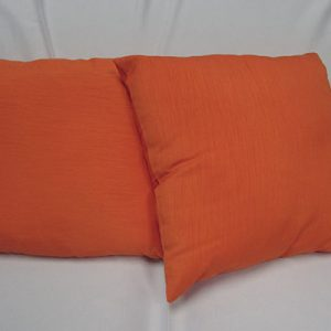 Orange Majestic Pillow