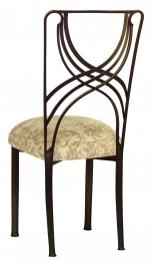 Bronze La Corde with Ravena Chenille Boxed Cushion
