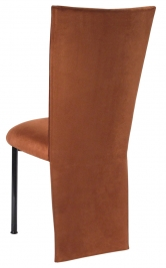 Cognac Suede Jacket and Cushion on Black Legs