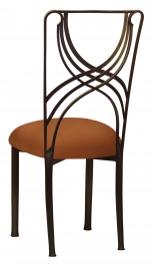 Bronze La Corde with Copper Stretch Knit Cushion