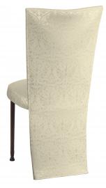 Victoriana Jacket with Boxed Cushion on Mahogany Legs