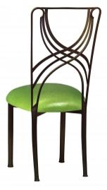 Bronze La Corde with Metallic Lime Stretch Knit