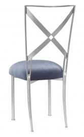 Simply X with Steel Velvet Cushion