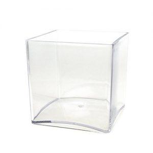 """4""""x4"""" lucite cube"""