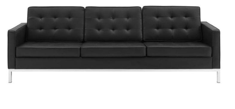 Contemporary Black Sofa